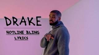 Drake  Hotline Bling Lyrics Video