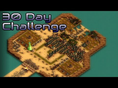 They are Billions - 30 Day Challenge - custom map - No pause