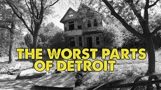 I drove through the worst parts of Detroit, Michigan. This is what I saw.