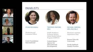 """""""Global Health Pathways: Your Options"""" Recorded Webinar"""