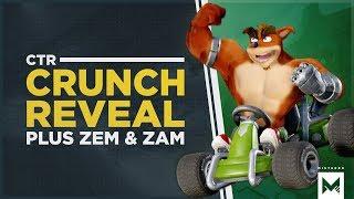 Crash Team Racing Nitro-Fueled: Nitros Oxide Edition Content Announced + Crunch, Zem & Zam Revealed!