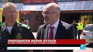 Manchester Terror Attack: Health professionals deliver statement on attack