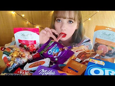 🍫DELICIOUS CHRISTMAS CHOCOLATES FROM THE UK🇬🇧 MUKBANG 영국 초콜릿 먹방