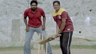 Most Funny Scene | Vijay's Cricket Play With Friends - Naduvula Konjam Pakkatha Kaanom Movie Scene