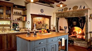 55 Cozy Country Kitchen Ideas