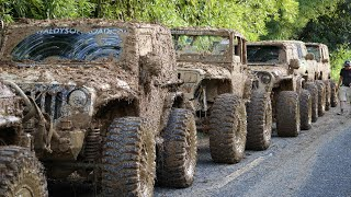 Extreme Mudding in Puerto Rico   Most Extreme Off Road Trail in Puerto Rico   Las cadenas  