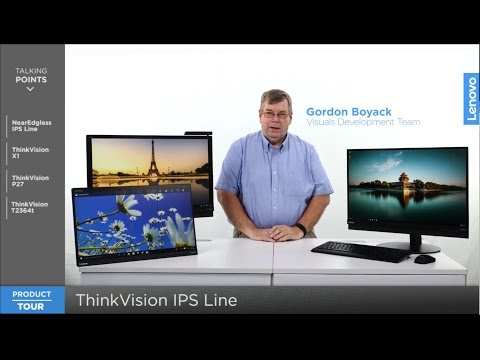 ThinkVision IPS Line: Product Tour