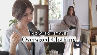 The Secret To Oversized Clothes | Petite Style Tips & Tricks