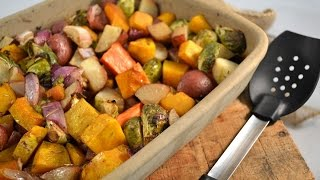 Oven Roasted Vegetables Recipe - Baked Garden Vegetables | RadaCutlery.com