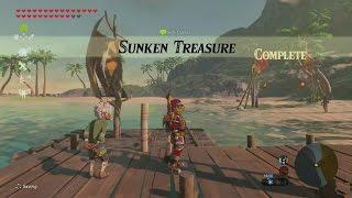 Zelda: Breath of the Wild | Sunken Treasure Side Quest - Faron Tower Region