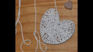 Making Hearts with Craft.