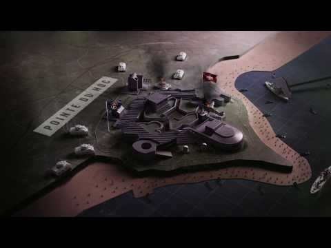 Official Call of Duty®: WWII – Pointe Du Hoc Multiplayer Map Flythrough