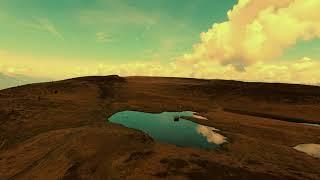 DJI FPV COMBO Plateau of small lakes