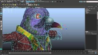 Maya LT 2016 extension 2 – Export/import skin weight maps