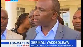 Meru Senator Mithika Linturi wants government to respect the Judiciary