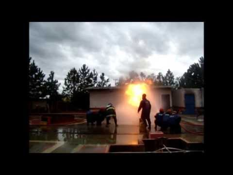 Aula Prática Brigada de Incêndio Laudo de Para Raios SPDA Curso de Empilhadeira Elétrica Campinas