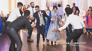 Sukha & Jasmeet | Surprise Engagement Performance
