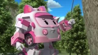 Робокар Поли - мультики про машинки - Тренировка для Эмбер - Серия 26