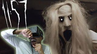 VICIOUS JUMPSCARE    11: 57 Oculus Rift DK2 Horror Game REACTION
