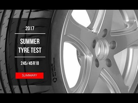2017 Summer Tyre Test – Summary | 245/45 R18
