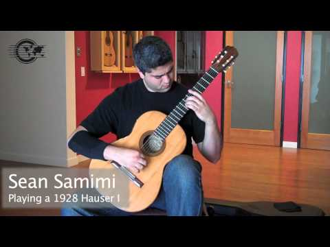 Granados 'La Maja de Goya' played by Sean Samimi