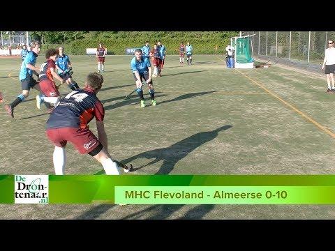 VIDEO   MHC Flevoland krijgt tien goals om de oren, maar zit er niet mee