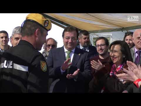 LA MINISTRA DE DEFENSA ELOGIA LAS LABORES DE LA UME