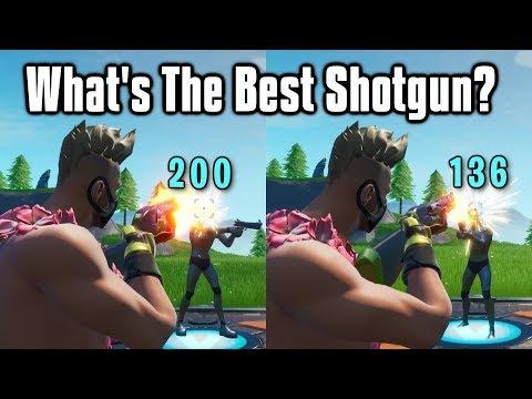 The New Shotgun Meta - Pump Shotgun vs Combat Shotgun!  (Fortnite Battle Royale)