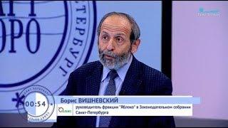 Борис Вишневский: Это зимой ходить по улицам Петербурга стало опасно для здоровья и жизни