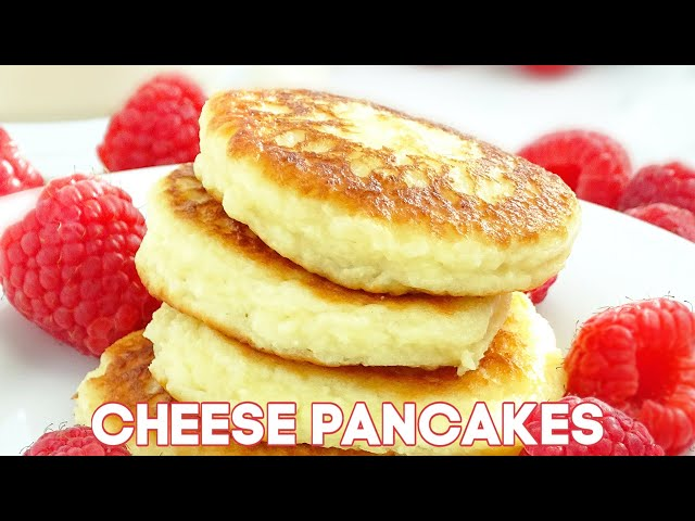 Cheese Pancakes Sirniki + VIDEO