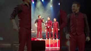 "98 Degrees performing ""The Chipmunks Christmas Song"" at 98° at Christmas - Los Angeles 2nd Row"