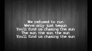 The Wanted - Chasing The Sun [Lyrics)