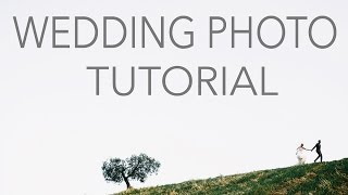 VlOG #4 - Wedding photography Tutorial - Учимся работать с парой на реальной свадьбе.