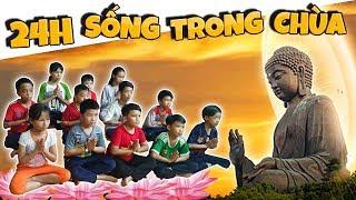 Tony   Thử Thách 24h Sống Trong Chùa - Ăn Chay Niệm Phật