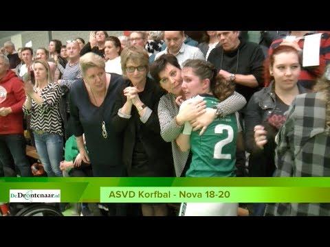 ASVD Korfbal kan in kampioenswedstrijd niet doordrukken: titel naar Nova