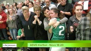 ASVD Korfbal - Nova Bilthoven 18-20