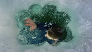 Craziest Thing Ive EVER Caught Ice Fishing!?!?!