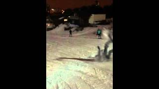 Фэйл на сноуборде   Snowboarding FAIL