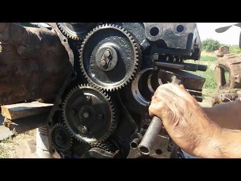 Ремонт двигателя комбайна Нива СК 5 , 3 й день