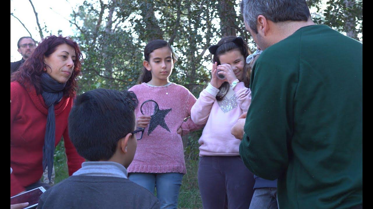 Projecte Magnet: Escola Peramàs i el CREAF