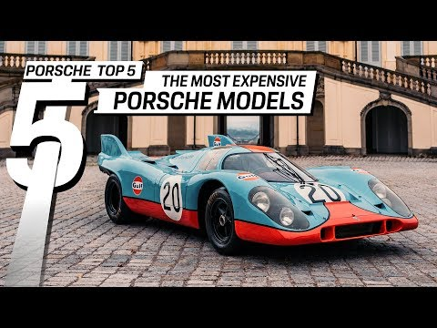 5 Most Expensive Porsche's in the World