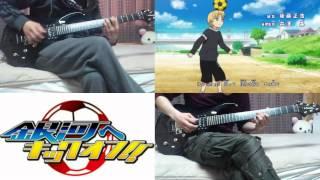 【Guiter Cover】 銀河へキックオフ OP 弾いてみた。 Ginga E Kick Off !! Guiter Cover