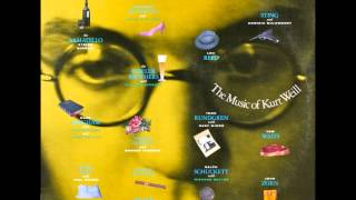 Surabaya Johnny - Dagmar Krause - Lost In The Stars - Songs Of Kurt Weill - English - Best Audio