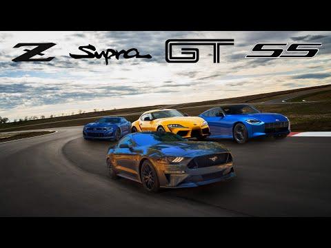 2023 Nissan Z vs Toyota Supra vs Ford Mustang GT vs Chevy Camaro SS - The New 400 Club