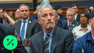 Jon Stewart Blasts Congress Over 9/11 Victims Fund