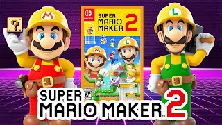 🔴 Super Mario Maker 2 Gameplay | Funny Moments Troll Levels & Review!