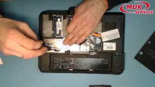 Замена винчестера в ноутбуке HP ElitBook 2740p. Ремонт ноутбука