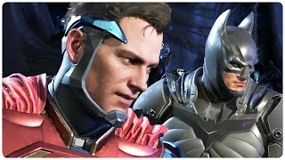 Injustice 2 Final Trailer Brainiac (2017) Shattered Alliances PS4 Superhero Action Game HD