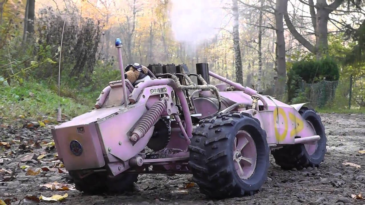 Steam-Powered RC Trike: The Apex Of Mechanical Eye Candy