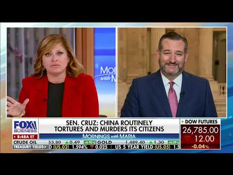 Sen. Cruz on Fox Business Discussing His Recent Op-Ed on Chinese Censorship